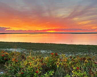 Chatham Beach at Sunrise, Cape Cod, Chatham Beach, Sunrise, Chatham MA, Ocean, Cape Cod Wall Art, Cape Cod Print, Cape Cod Decor
