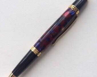Hand turned acrylic Sierra Stylus pen