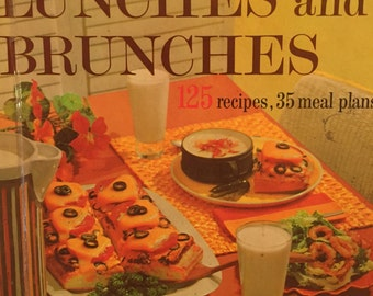 1971 Better Homes and Gardens // LUNCHES AND BRUNCHES