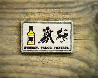 Tac-Sign: Whiskey Tango Foxtrot patch