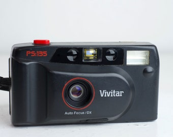Vivitar PS:135 35mm Point-and-Shoot Film Camera