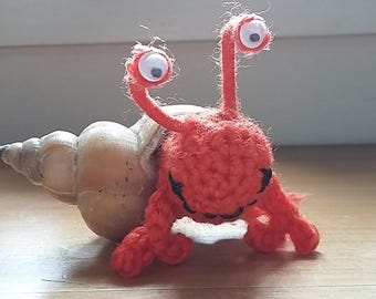 Crochet Hermit Crab