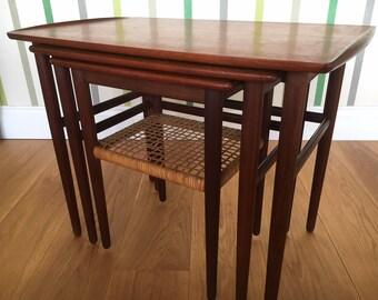 Midcentury Danish nested tables