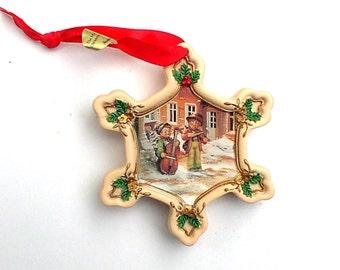 M J Hummel Danbury Mint Christmas Tree Ornament Sweet Music