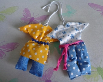 Original and practical set of 2 Lavender Sachets