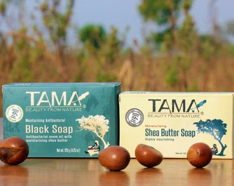 TAMA® All Natural Moisturizing Shea Butter Soap