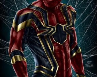 Spider-Man Iron Spider 11x17