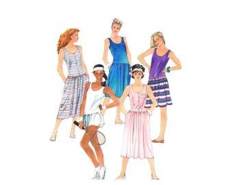 Misses Low Waist Dress and Panties McCalls 2042 Vintage Sewing Pattern Size 6 - 8 - 10 Bust 30 1/2 - 31 1/2 - 32 1/2 UNCUT