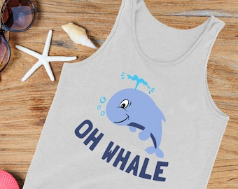 whale Svg, Oh Whale Baby shirt design, Kids Infant Cut file Instant download t shirt iron on design, Svg, Eps, dxf, Png Cricut, Silhouette