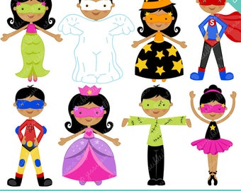 halloween kids cute digital clipart commercial use ok rh etsy com