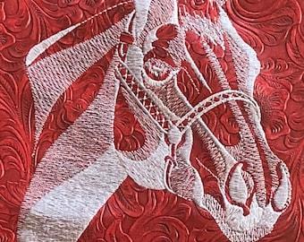 QUARTER HORSE Craft Quilting Square