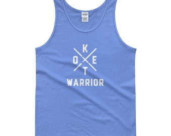 Keto Warrior Funny Sarcastic Novelty Foodie Bacon Lover Tank top