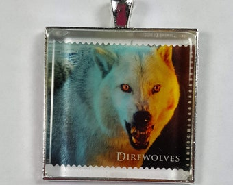 Game of Thrones Direwolves Wolf HBO GOT George R R Martin UK Genuine Postage Stamp