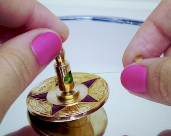 """Brass Spinning Top, Spin top, EDC, Spinning Coin, Precision Spinning Top 1,456"""""""
