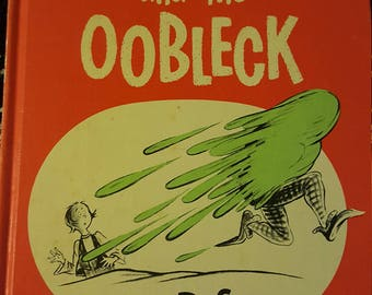 Bartholomew and the Oobleck by: Dr. Seuss - 1949 hardcover Book Club Edition