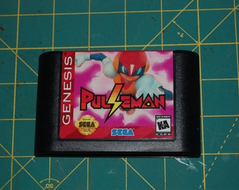 Pulseman! Sega Genesis Repro!
