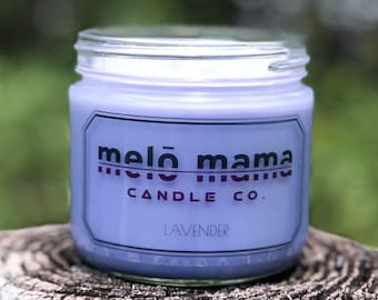 Lavender 12oz Scented Soy Candle