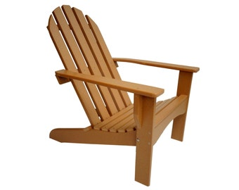 Adirondack Chair Casual Style - Made from Poly Lumber