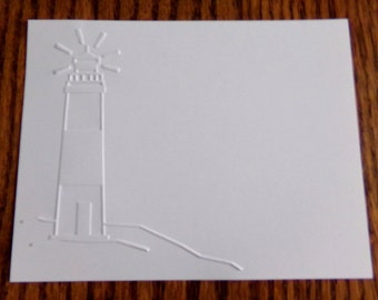 LIGHTHOUSE Embossed Card Stock Panels Perfect for Scrapbooking and Card Making - Set of 12