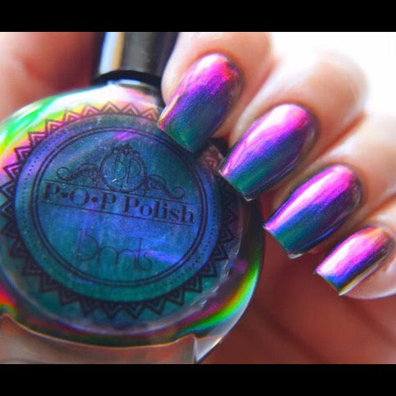 POP Polish Dragon Slick Nail Polish Quick Dry