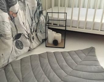 Play mat, Leaf mat, Baby gift, Activity mat, Baby mat, Floor mat, Bedside mat, Design mat, Baby Gift