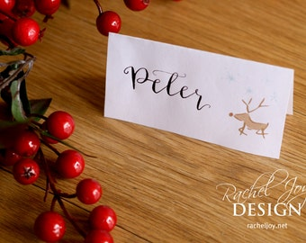 Rachel joy design by racheljoydesign on etsy christmas dinner place cards print yourself works with avery 5302 tent cards digital solutioingenieria Gallery