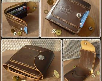 Card holder Leather card wallet Leather wallet Bifold wallet Mens walletPersonalized wallet Groomsmen wallets Father's Day GiftCustom wallet