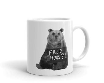 Free Hugs from Grizzly Bear - Mug