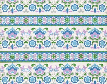 70s Flower Wallpaper #0717-running meter/vintage wallpaper/Flower wallpaper
