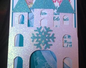 Frozen Castle Invitations