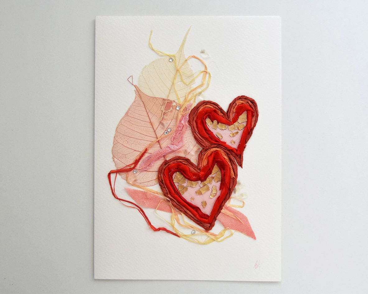 Artist trading card paper handmade greeting card bridal card zoom kristyandbryce Choice Image