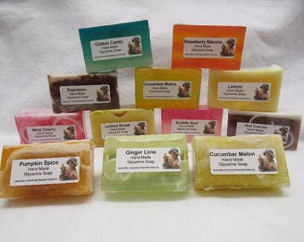 Homemade in Texas Essential Oil Glycerin Block Soap