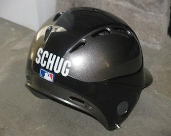 Baseball Football La Crosse Sports Helmet Decal Personalized