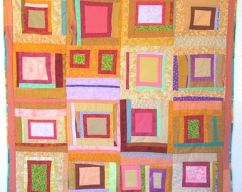 Windows in All Sizes Patchwork Quilt by Jane