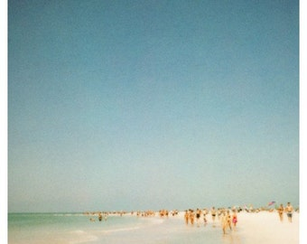 Polaroid Photograph - Beach Photograph - Florida - Summer -  2900 Miles 3 - Alicia Bock Photography - Ocean - Landscape Photography - Film
