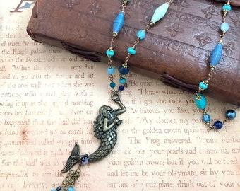 Mermaid's Treasure - OOAK Necklace