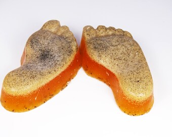 Satsuma&Grapefruit Pumice Foot Scrub, foot scrub, scrub bar, foot scrub bar, pumice foot scrub