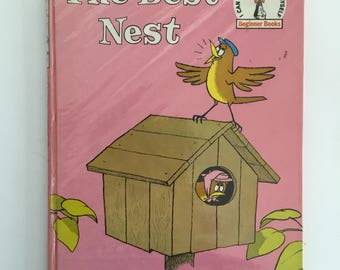 The Best Nest by PD Eastman Vintage 1969 Childrens Hardback Book