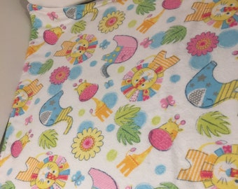 flannel baby blanket colorful baby shower newborn gift baby boy or girl