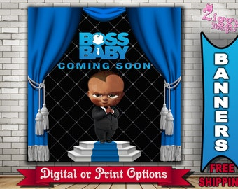 Boss Baby Banners Etsy