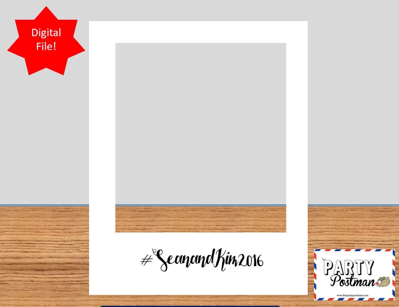photo personnalis en blanc cadre photo booth prop instagram. Black Bedroom Furniture Sets. Home Design Ideas