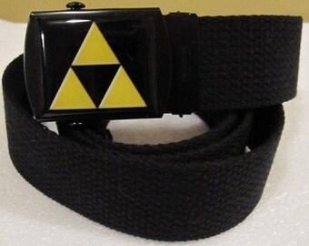 Zelda Inspired Legends Of Tri Force Belt Adjustable Size