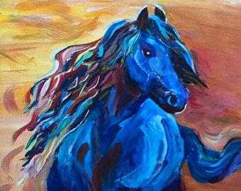 "Horse titled, ""Free Spirit""."