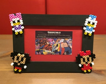 Mickey/Minnie/Donald/Daisy Hama bracket Pearl photo frame