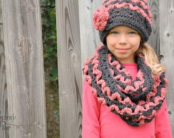 Victoria Slouch Hat Crochet Pattern pdf