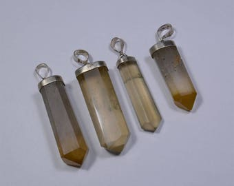 Beautiful High Quality Rutile Quartz Pendants From Pakistan