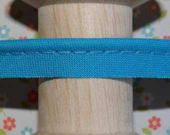 Turquoise blue piping for sewing