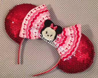 Valentines Day Tsum Mouse Ears Custom RTS