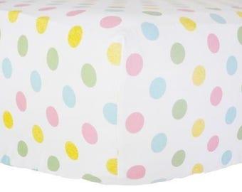 Sweet & Simple Seperates - Hot Pink Crib Baby Bedding   Crib Sheet