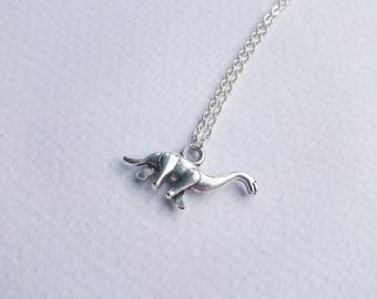 Brontosaurus Dinosaur Necklace, Dinosaur Jewellery, Dinosaur Gift, Dino Necklace, Brontosaurus Jewellery, Prehistoric Necklace, Geeky Gift